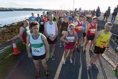 canada maratonu Ontario Ottawa biegacze Fotografia Royalty Free