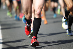 canada maratonu Ontario Ottawa biegacze Obraz Royalty Free
