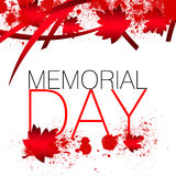Canada Memorial Day Royalty Free Stock Photography
