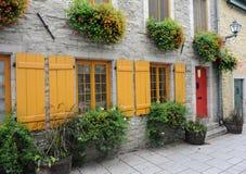 canada miasto Quebec Fotografia Royalty Free
