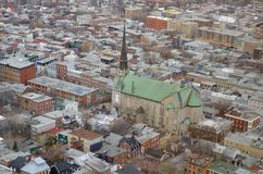 canada miasto Quebec Obrazy Stock