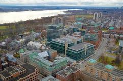 canada miasto Quebec Zdjęcia Royalty Free
