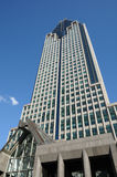 Canada, a modern building Montreal Royalty Free Stock Photo