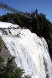 Canada Montmorency Falls royalty free stock photo
