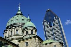 Canada, Montreal, kathedraal royalty-vrije stock afbeeldingen