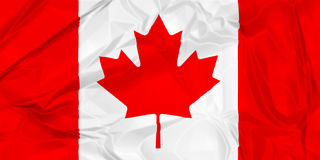 Canada national flag Royalty Free Stock Images