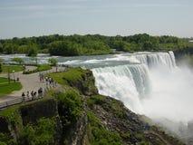 canada objętych Niagara usa Zdjęcia Stock