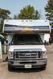 Canada Ontario 30.09.2017 Parked RV camper car of Cruise America. Canada Ontario 30.09.2017 - Parked RV camper car of Cruise America Stock Images