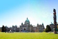 Canada Parliament Building Royalty Free Stock Photo