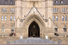 Canada Parliament Building Gate Royalty Free Stock Image