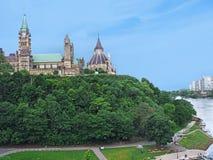 Canada parliament building Stock Image