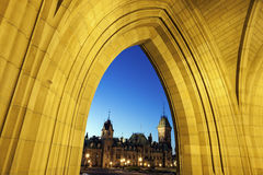 Canada Parliament Building Royalty Free Stock Photography
