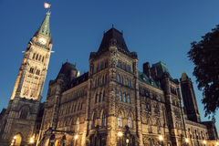 Canada Parliament Building Royalty Free Stock Image