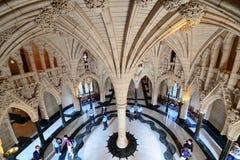 Canada parliament hill building Stock Photos