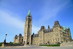 Canada Parliament Historic Building Royalty Free Stock Photos