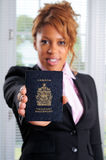 Canada Passport royalty free stock images