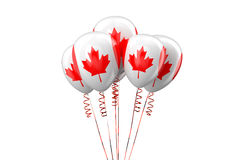 Canada patriotic balloons,  holyday concept Stock Photo