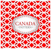 Canada pattern Stock Photography