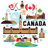 Canada pattern Stock Images