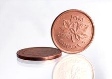 Canada Penny Royalty Free Stock Image