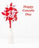 Canada Pinwheel Portrait stock image