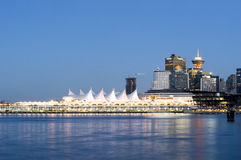Canada Place (2008) - Vancouver, Canada Royalty Free Stock Image
