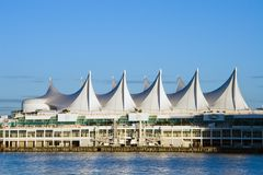Canada Place. Vancouver Trade and Convention Center stock photos