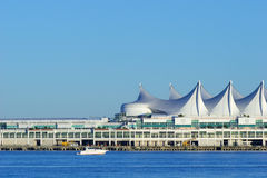 Canada Place cruise ship terminal, Vancouver, BC Stock Image