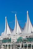 Canada Place Cruise Terminal in Vancouver. Royalty Free Stock Photography