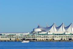 Canada Place de terminal van het cruiseschip, Vancouver, BC Stock Afbeelding