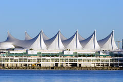 Canada Place - downtown Vancouver, BC Royalty Free Stock Photography