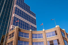 Canada Place, Edmonton. Canada Place, the federal Building in Edmonton Alberta Stock Photo