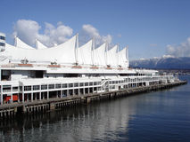 Canada Place Five Sails Royalty Free Stock Photography