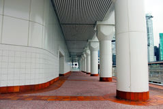 Canada Place. The hallway at Canada Place Stock Images
