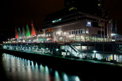 Canada Place at Night, Vancouver Royalty Free Stock Photo