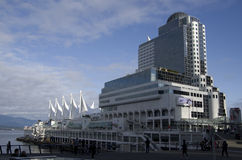 Canada Place Stock Image