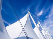 Canada Place sails Stock Photography