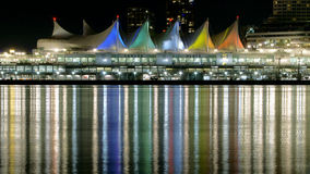 Canada Place Vancouver stock photo