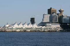 Canada Place, Vancouver Stock Afbeeldingen