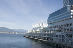 Canada Place, Vancouver Royalty Free Stock Photos
