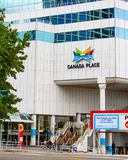 Canada Place, Vancouver, B.C. Stock Photography