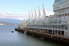 Canada Place, Vancouver BC Canada. Royalty-vrije Stock Afbeelding