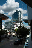 Canada Place, Vancouver BC Canada royalty free stock image