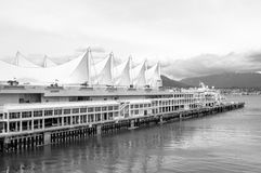 Canada Place in Vancouver Royalty Free Stock Images