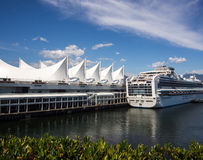 Canada Place, Vancouver Royalty Free Stock Photo