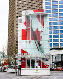 Canada Place Welcome Center, Vancouver, BC. Stock Photo