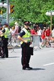 Canada police on guard Royalty Free Stock Photos
