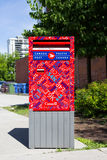 Canada Post Box Stock Image