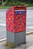 Canada post mailbox Stock Image