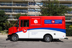 Canada Post Van Royalty Free Stock Photo